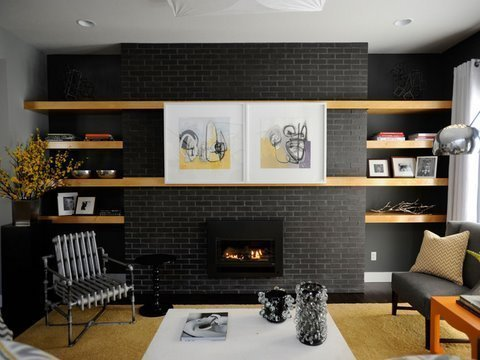 A clever disguise for your tv mosaik design for 10 x 16 living room