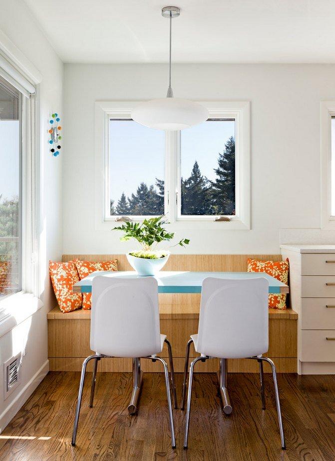 clean white kitchen mod design