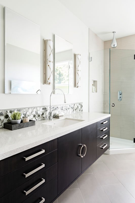 Timeless Bathroom Remodelers Portland Oregon Mosaik Design