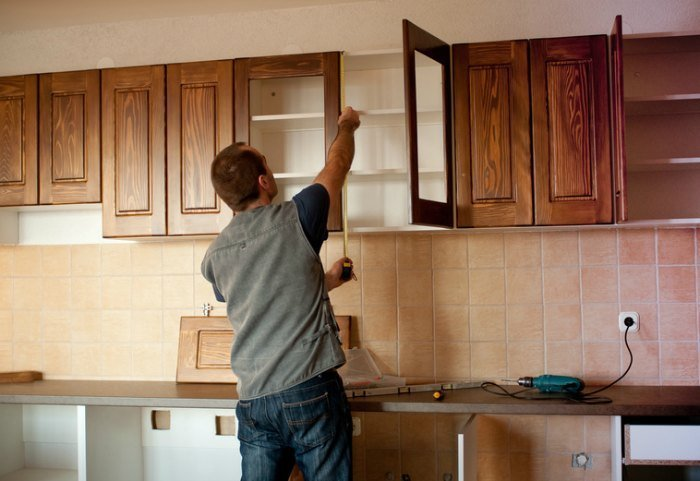 kitchen upgrades measuring cabinets roi