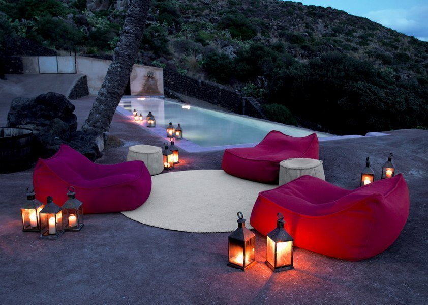 outdoor patio fire elements feng shui