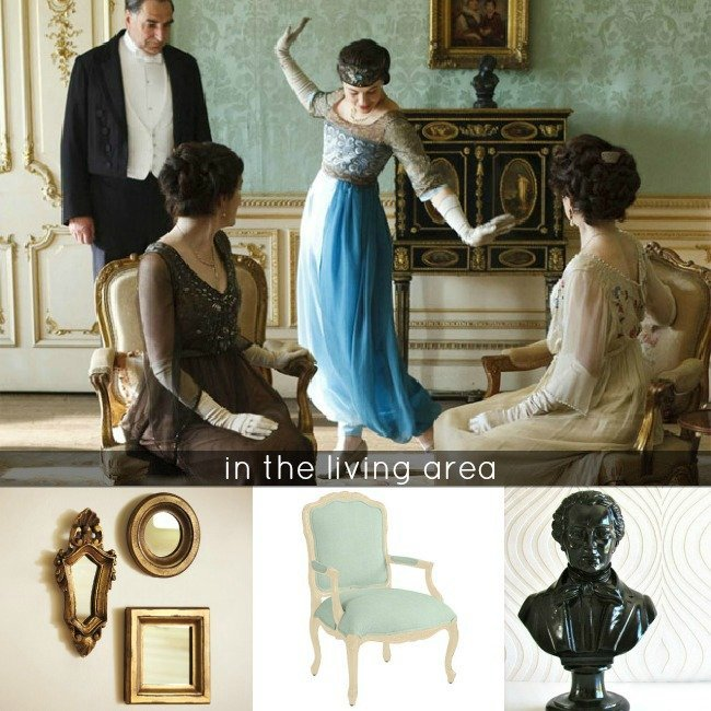 downton abbey interior design