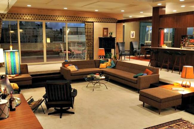 Mad Men Apartment Inspiration
