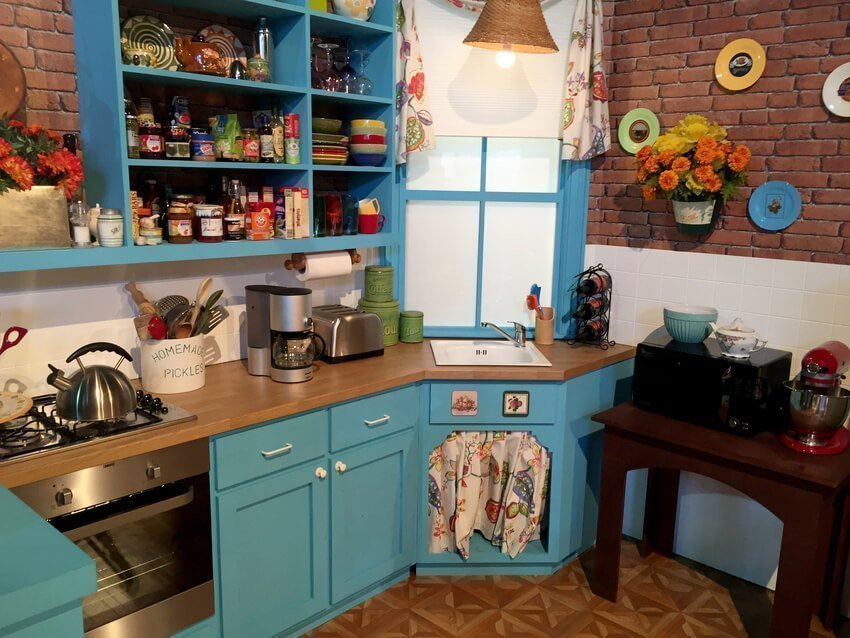 Friends Kitchen Inspiration