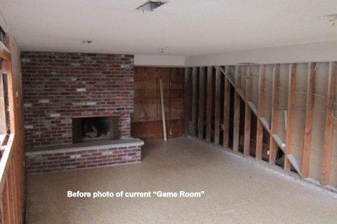 basement before remodel