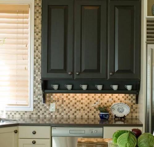 cabinet vignette portland kitchen