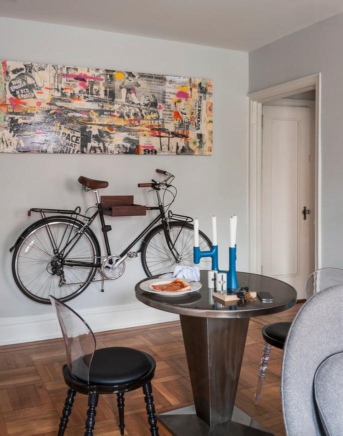 indoor bike rack home