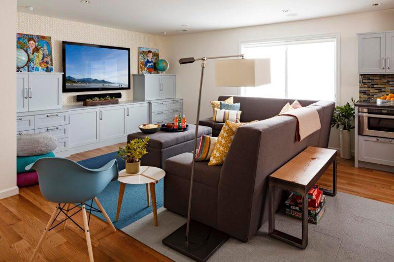 living space basement