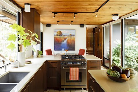 Mid-Century Modern Kitchen | Mosaik Design