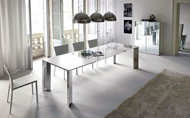 sharp modern dining room