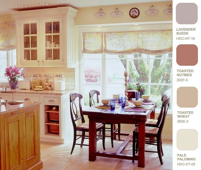 Complementary Color Scheme Kitchens