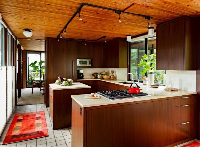 Kitchen Color Schemes For Dark Cabinets
