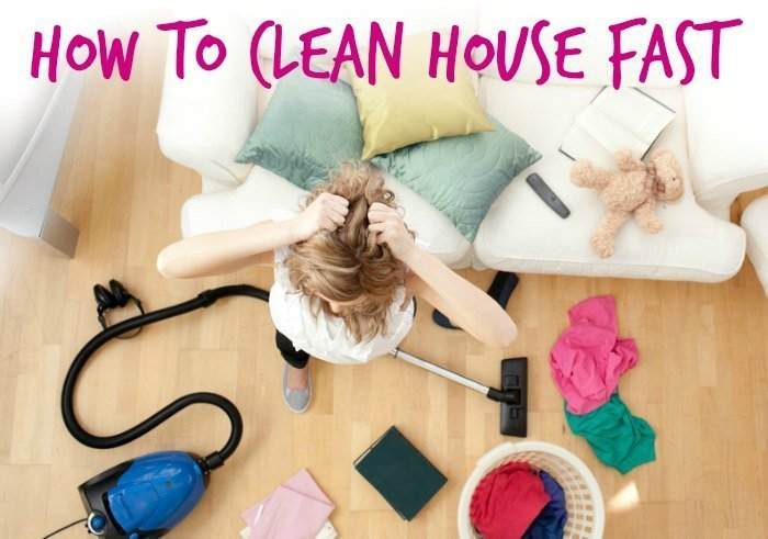 Company's Coming! How to Clean House Fast