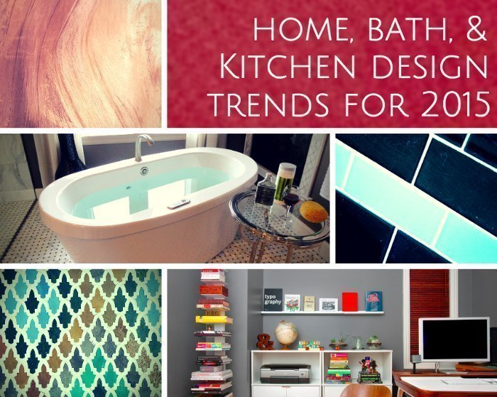 Home kitchen bathroom design trends 2015 mosaik design for New home plans 2015
