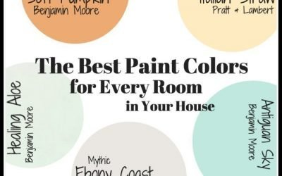 The Best Paint Colors for Every Room in the House