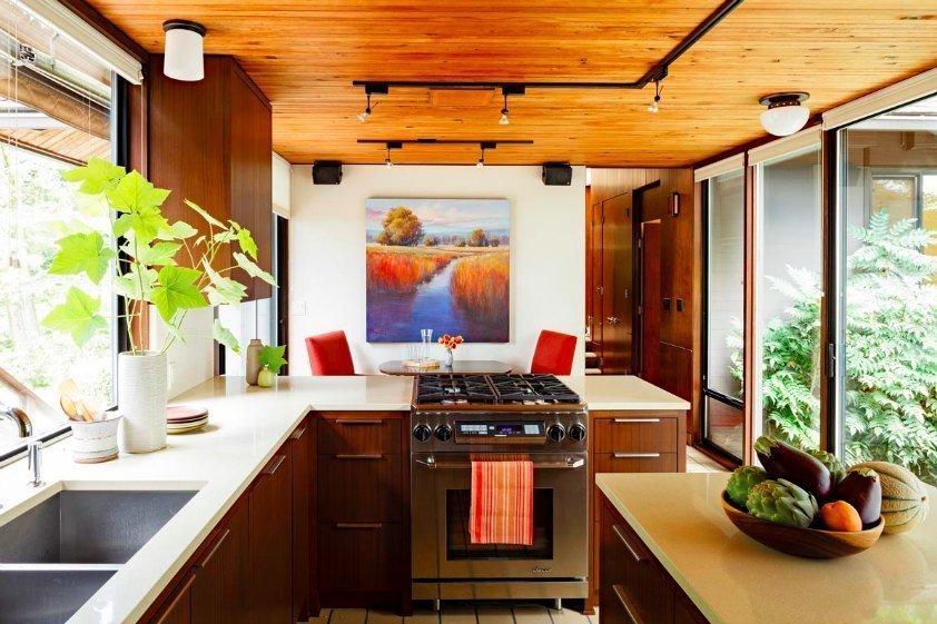 feng shui kitchen open airy