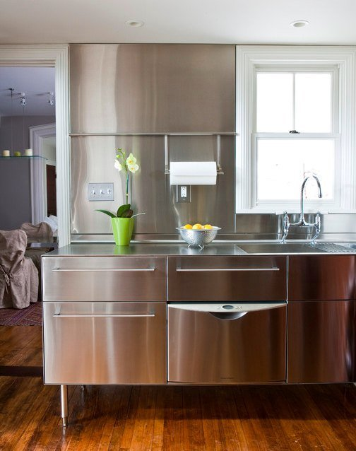 stainless steel kitchen upgrades