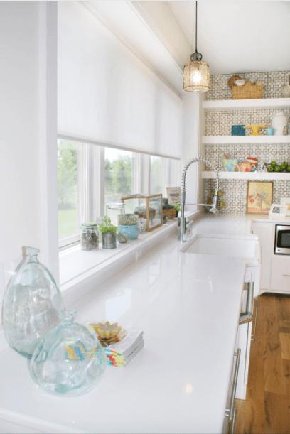 How To Decorate Around Windows Mosaik Design