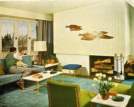1956 living room