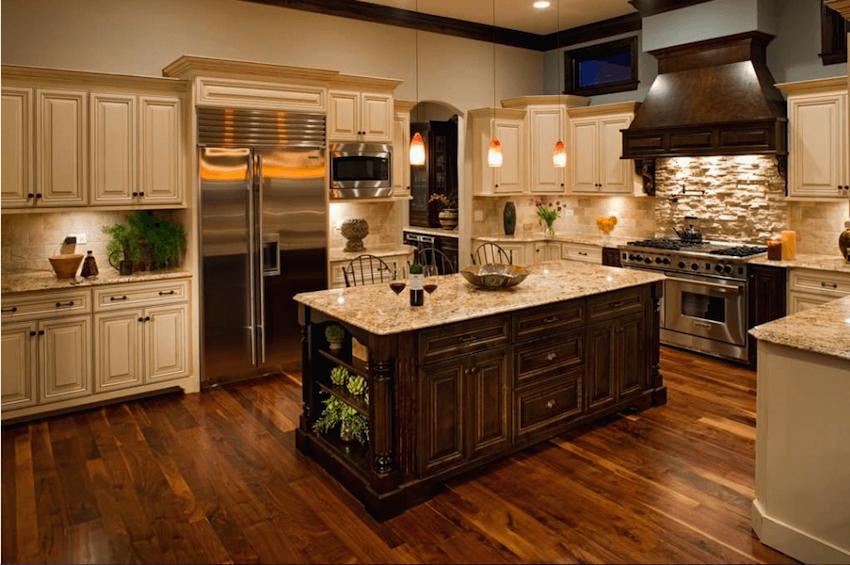 natural hardwood floors stone