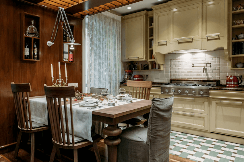 russia traditional kitchen