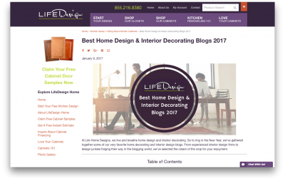 Mosaik Design Featured on LifeDesign Home!