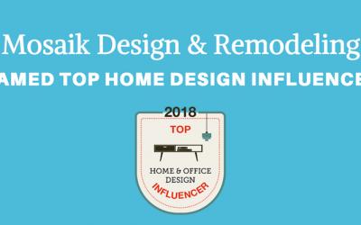 Mosaik Named Among Top Home Design Influencers