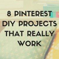 Pinterest DIY Projects