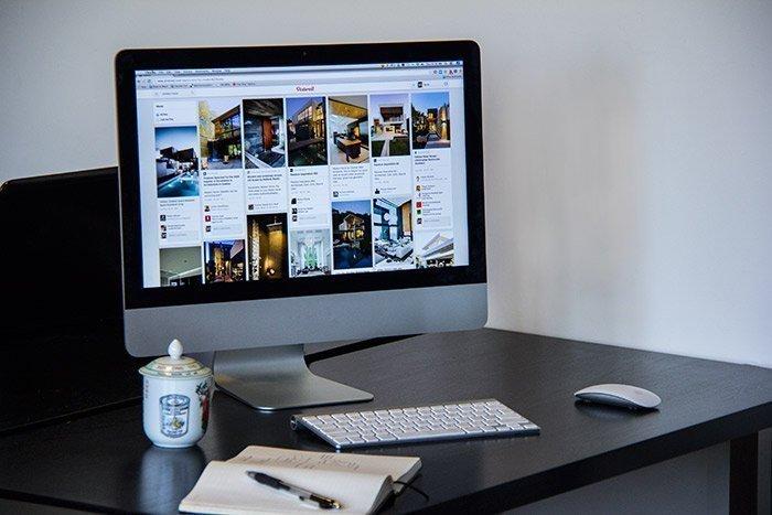 pinterest interior design work station web
