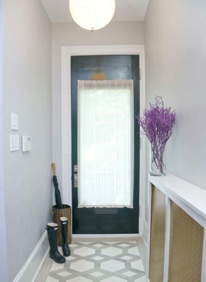 front door window