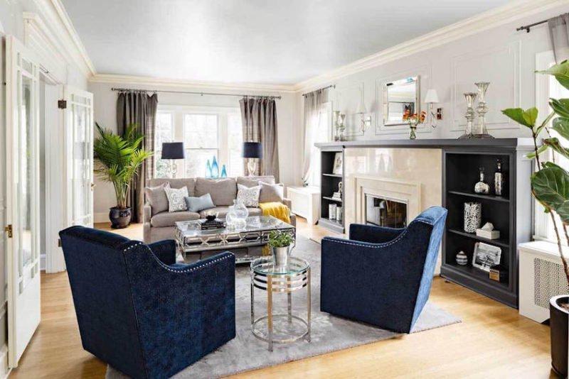 good lighting living room