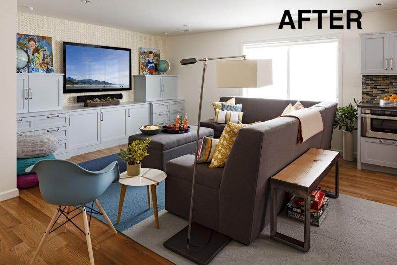 After basement remodel
