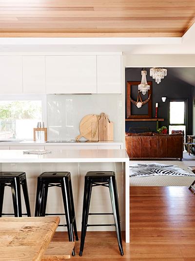 light wood kitchen