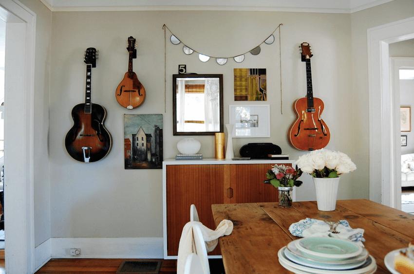 music inspired interior design