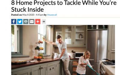 Mosaik Featured on Housecall: Great Home Projects While You're Stuck Inside