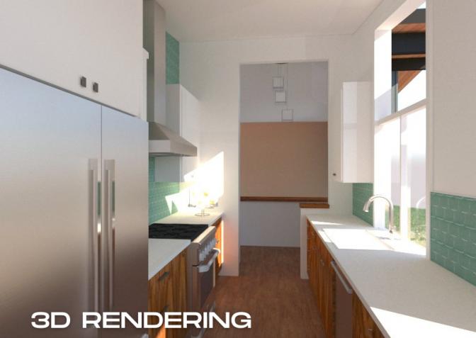Mid-Century-Modern_003-1 - 3D Rendering2